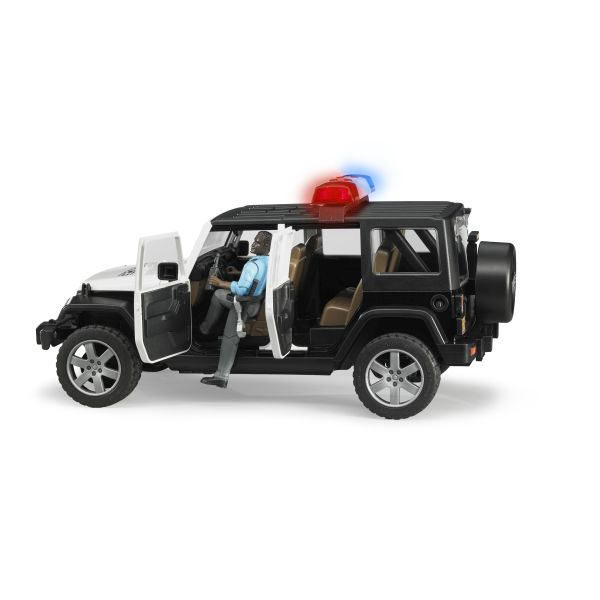 Jeep Rubicon Polizeiauto
